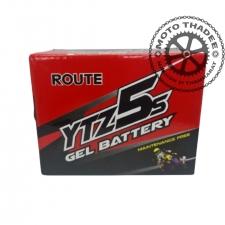 แบตเตอรี่แห้ง 12V 3แอม ยี่ห้อ ROUTE รุ่น YTZ5S